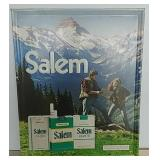 SST embossed Salem Cigarettes sign