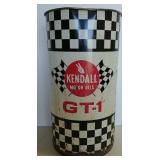 Kendall Motor Oil garbage barrel