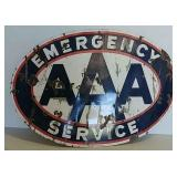 DSP AAA  Emergency Service sign