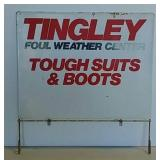 SST Tingley Tough Suits & Boots sign