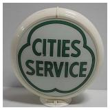 Cities Service gas pump globe