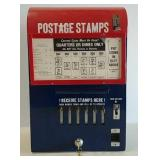 Postage stamp dispenser
