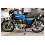 1976 Honda Motorcycle
