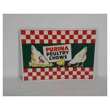 SST Purina poultry chow sign