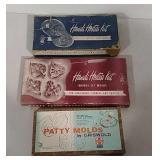 3 Patty Mold kits