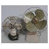 2 Vintage fans
