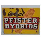 SST Pfister Hybrids sign