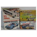 4 Model car kits