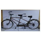 Schwinn Tandem bicycle dual brakes