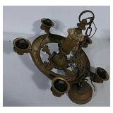 Cast iron chandelier