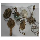 Variety of wall sconces