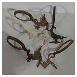 5 bracket lamp holders