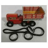 Tin windup toy truck