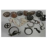 Variety of bracket lamp parts