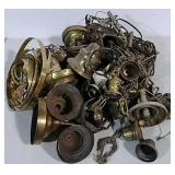 Huge lot of lamp parts