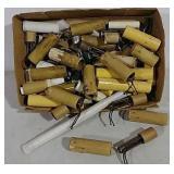 Boxful of Candlestick type light fixtures