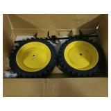 Ertl John Deere pedal tractor dual wheel pack