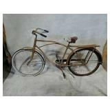 Hawthorne bicycle with Schwinn seat