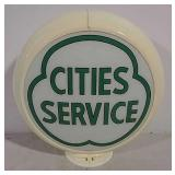 Cities Service gas globe