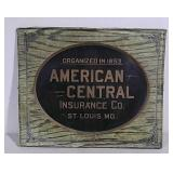 SST American Central Insurance sign