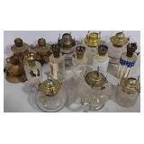 Variety of oil lamps
