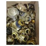 Variety of oil lamp parts