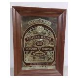 Chivas Regal advertising mirror