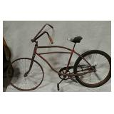 Skiptooth bicycle with early Mesinger seat