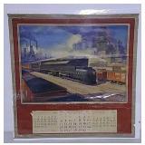1945 Pennsylvania Railroad calendar