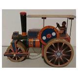 Tin windup steamroller