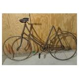 Iver Johnson wood wheel skiptooth bicycle