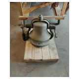 Locomotic steam engine bell