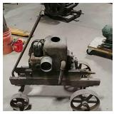 Fairbanks Morse style d hit & miss engine on cart