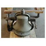 Locomotive steam engine bell