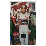 Dale Earnhardt Sr. Plexiglass soda machine front