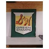 SST embossed SH green stamps