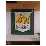 SST embossed SH green stamps. Sign