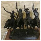 Bronze Fredrick Remmington figure