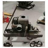 Fairbanks Morse Style D hit & miss engine on cart