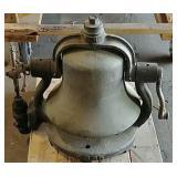 Locomotive steam engine bell