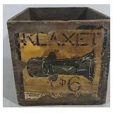 Wooden Advertising Box