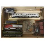 HO Diesel Engines, Tug, Cars & Accessories