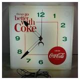 Coca Cola Light Up Clock