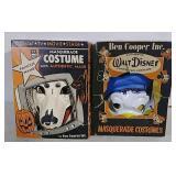 2 Vintage Halloween Masks & Costumes