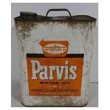 Parvis Motor Oil Can