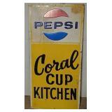 SST Embossed Pepsi Sign