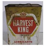 Harvest King Lubricants Can