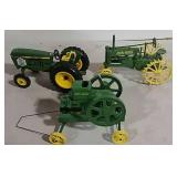 John Deere Model Tractors & Engine