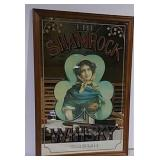 Shamrock Whisky Mirror