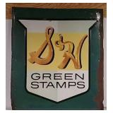 SST Embossed SH Green Stamps Sign